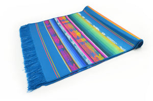 OTAVALO TABLE RUNNER  - TURQUOISE QUILOTOA
