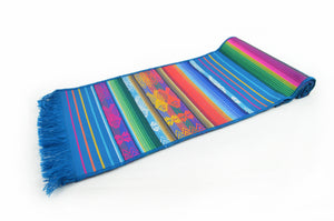 OTAVALO TABLE RUNNER SMALL  - TURQUOISE MOJANDA