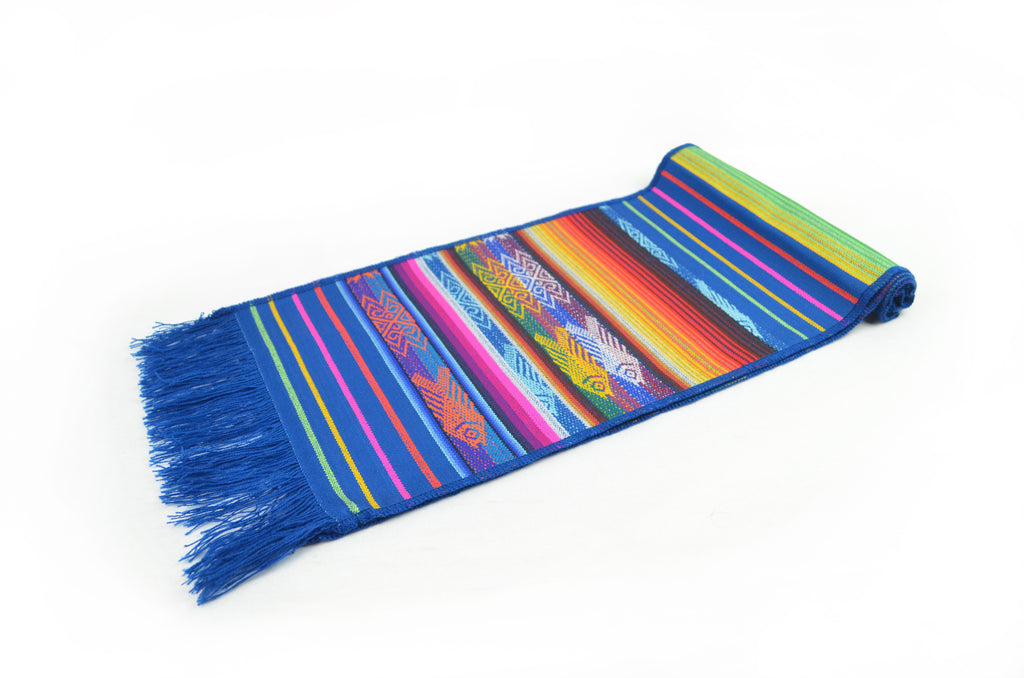 OTAVALO TABLE RUNNER SMALL  - BLUE ANTISANA