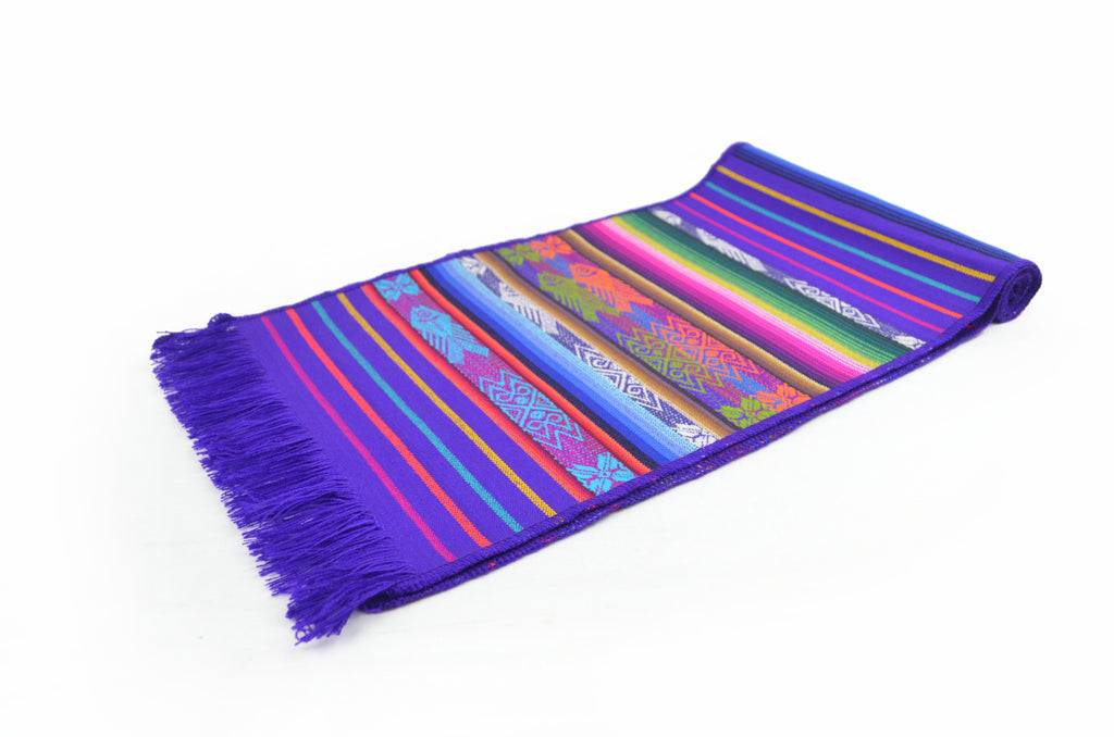 OTAVALO TABLE RUNNER SMALL  - PURPLE TURE