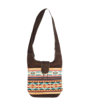 Colorful tedxtile shoulder bag