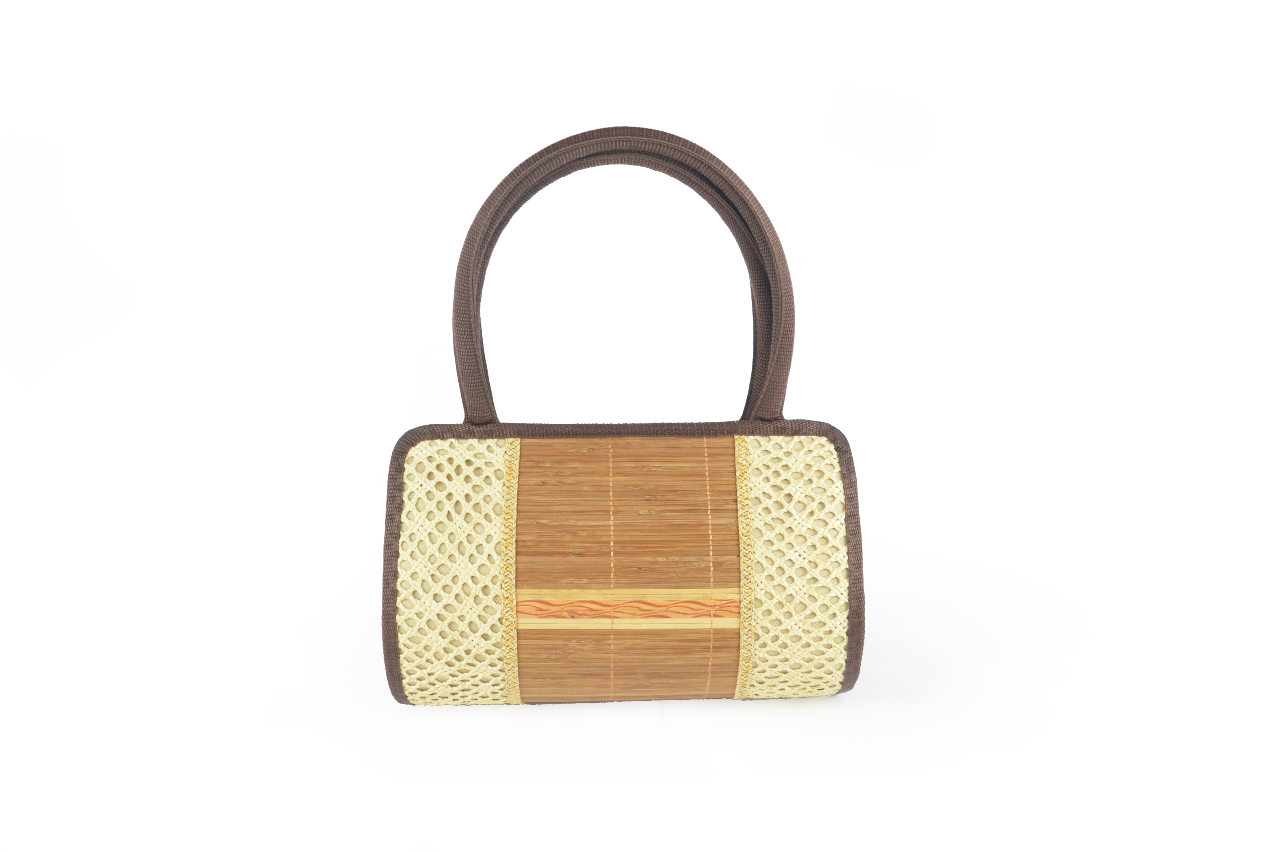Toquilla Straw Tube Handbag
