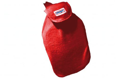 SANGER Red Body Warmer Hot Water Bottle - Made in Germany