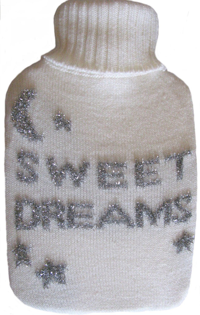 Warm Tradition Sweet Dreams Knit Hot Water Bottle Cover- COVER ONLY