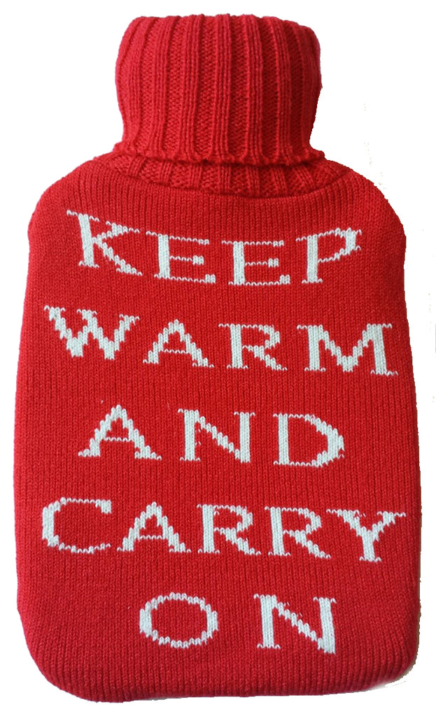 Warm Tradition Keep Warm Knit Hot Water Bottle Cover- COVER ONLY