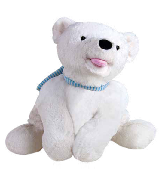 SANGER Icebear Kurt-Hot Water Bottle - Made in Germany