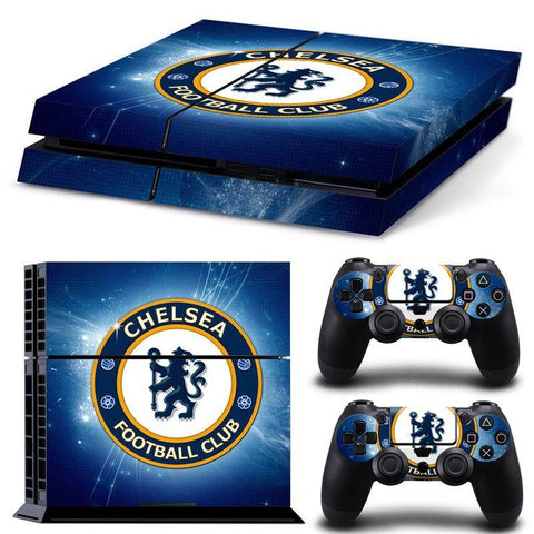 PS4 skin cover klistermærke Chealea football club fodbold premier leage til playstation 4