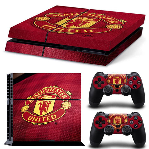 PS4 skin manchester united cover klistermærke til playstation 4