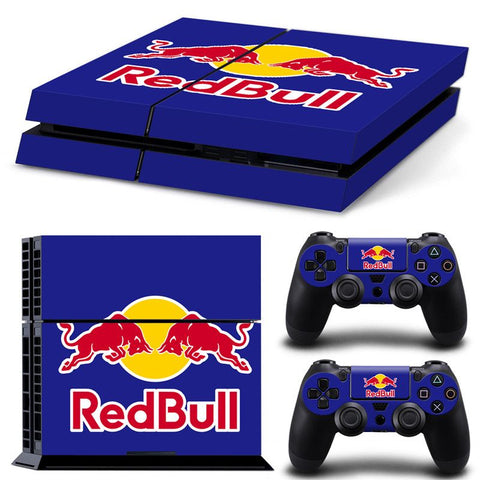 PS4 skin red bull klistermærke til playstation 4