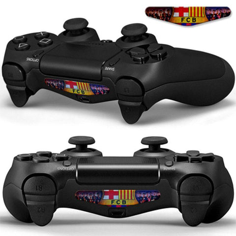 PS4 controller Lightbar fra FCB, Barcelona messi light bar cover til controller