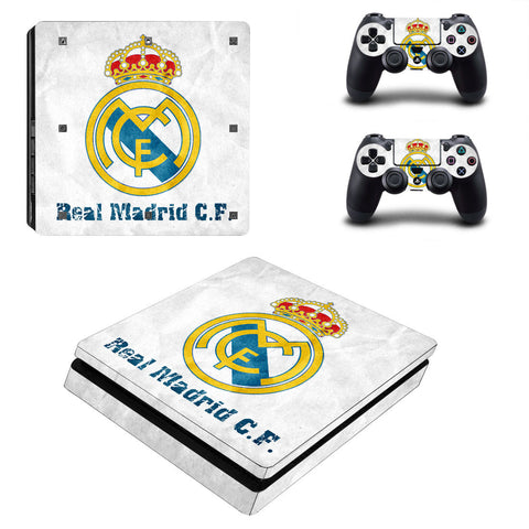 Real Madrid - PS4 slim - www.skinshoppen.dk PS4 slim