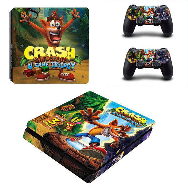Crash bandicoot - PS4 Slim - Skinshoppen.dk PS4 slim