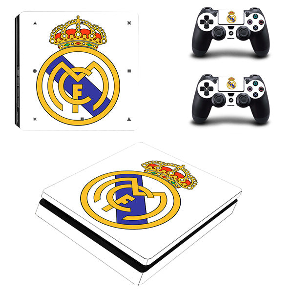 Real Madrid II - PS4 slim - www.skinshoppen.dk PS4 slim