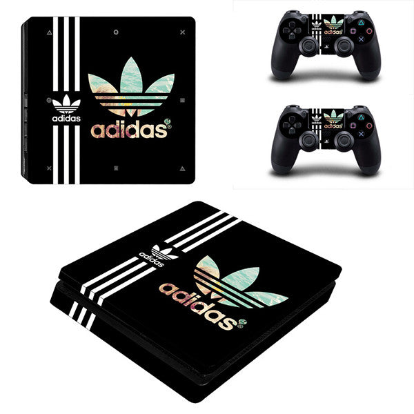 Adidas limited - PS4 Slim - www.skinshoppen.dk PS4 slim