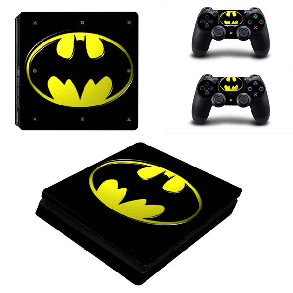 Batman - PS4 Slim - www.skinshoppen.dk PS4 slim