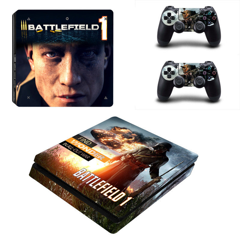 Battlefield - PS4 Slim - www.skinshoppen.dk PS4 slim