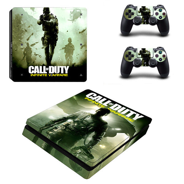 Call - PS4 Slim - www.skinshoppen.dk PS4 slim
