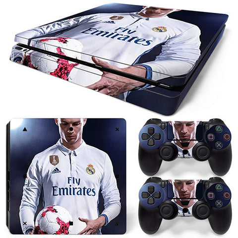 CR7 III - PS4 Slim - www.skinshoppen.dk PS4 slim
