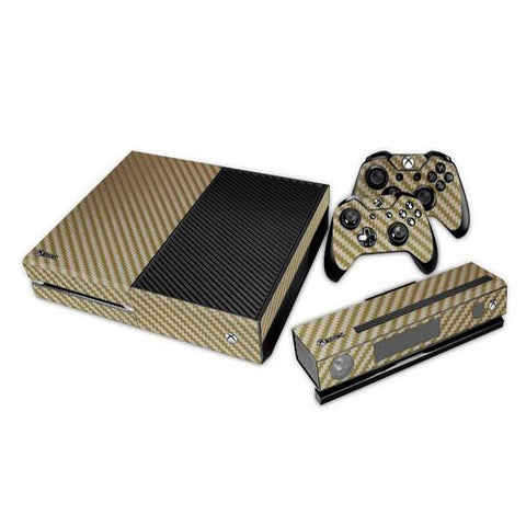 Guld Carbon - Xbox One - Skinshoppen.dk Xbox One