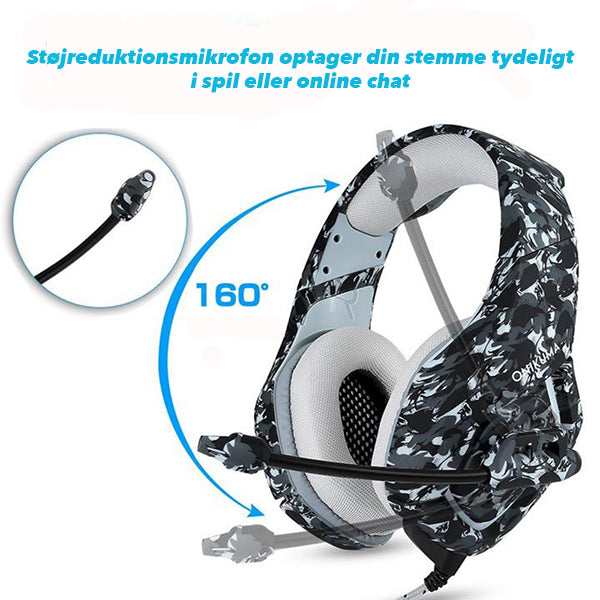 Gaming Headset 7.1 - Fortnite - www.skinshoppen.dk PS4