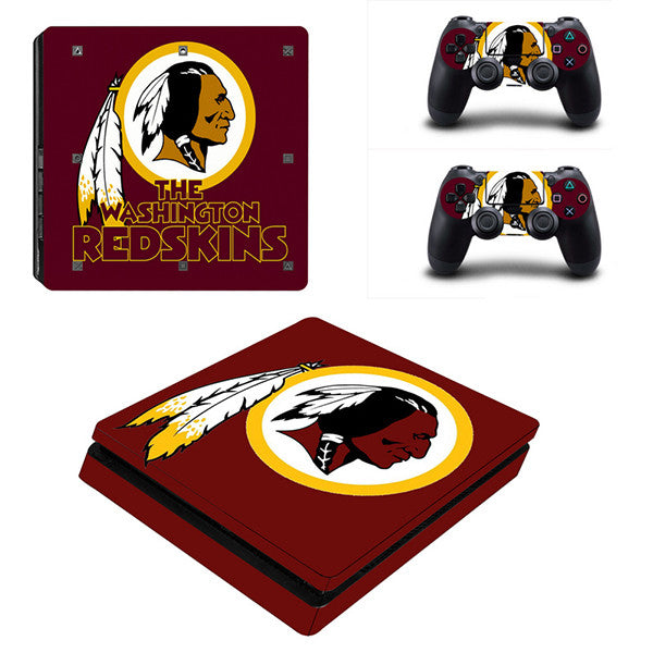 Redskins - PS4 Slim - www.skinshoppen.dk PS4 slim