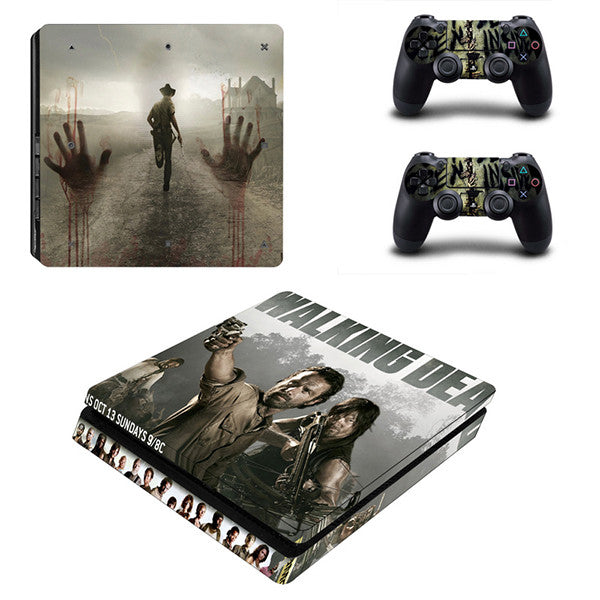 Walking dead - PS4 Slim - www.skinshoppen.dk PS4 slim
