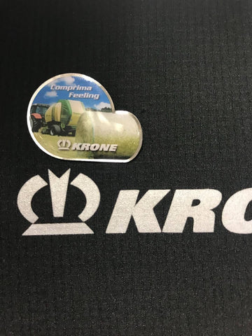 KRONE Comprima Baler Pin Badge