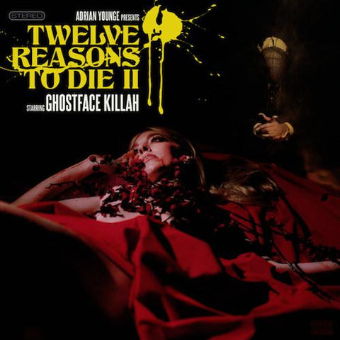 Ghostface Killah & Adrian Younge — Twelve Reasons To Die II (LP)