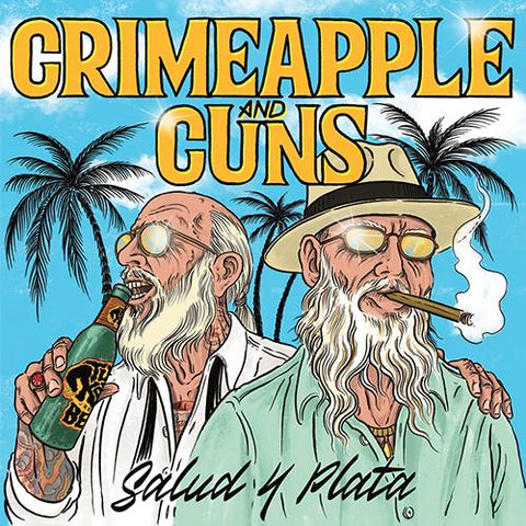 "Crimeapple & Cuns — Salud Y Plata (7"")"