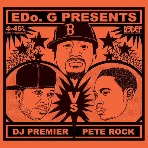 "Edo G Presents DJ Premier vs Pete Rock (4x7"")"