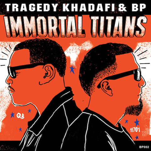 Tragedy Khadafi & BP – Immortal Titans (LP)