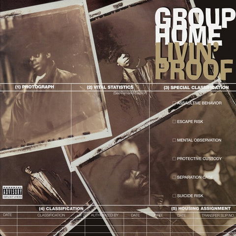 Group Home ‎– Livin' Proof (2LP)