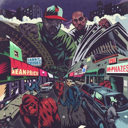 Sean Price & M-Phazes ‎– Land Of The Crooks (EP)