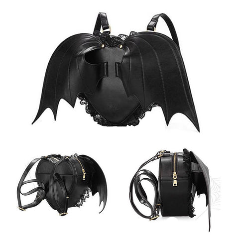 "Kawaii ! Le sac spécial Halloween "" Heart of Bat"""