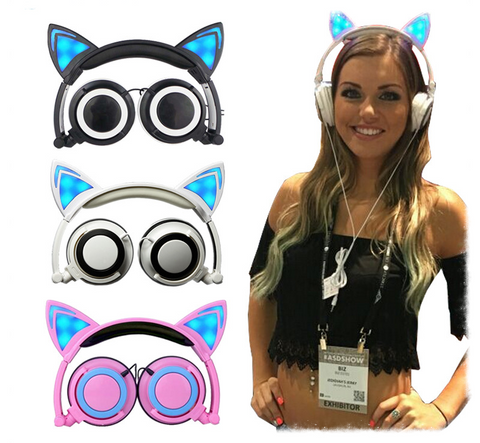"Kawaii !  Le casque audio ""Kawaii Nekosound"""