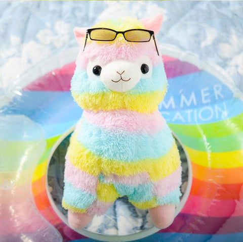 "Kawaii ! Les peluches ""Kawaii Alpacasso Rainbow"" 35cm-45cm"