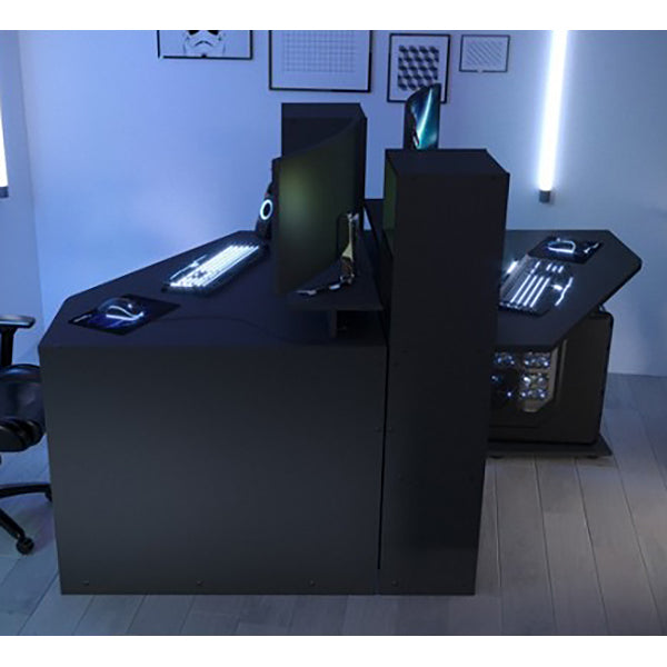 Parisot L Shaped Corner Gaming Desk Workstation