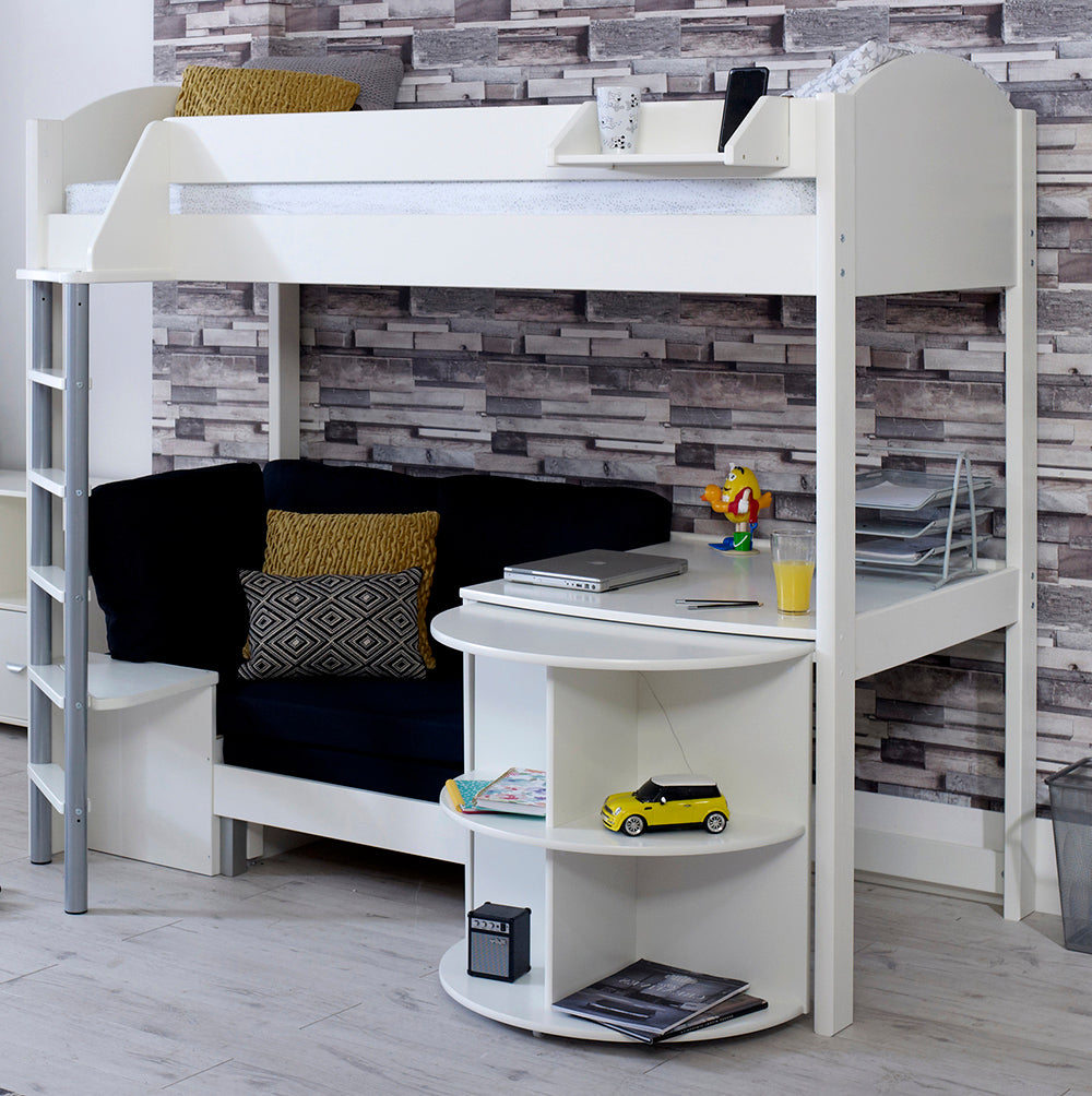 Super Stompa Casa D High Sleeper With Sofa Bed Pull Out Desk Camellatalisay Diy Chair Ideas Camellatalisaycom