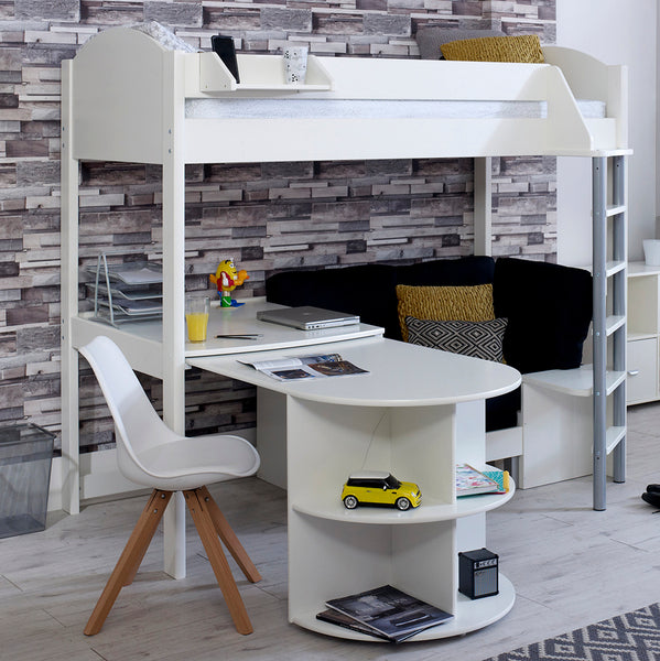 High Sleeper Loft Beds With Sofabed Futon Sofa Desk