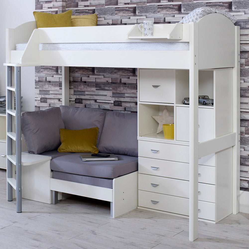 Surprising Stompa Casa F 6 High Sleeper With Sofa Bed Drawers Storage Unit Camellatalisay Diy Chair Ideas Camellatalisaycom