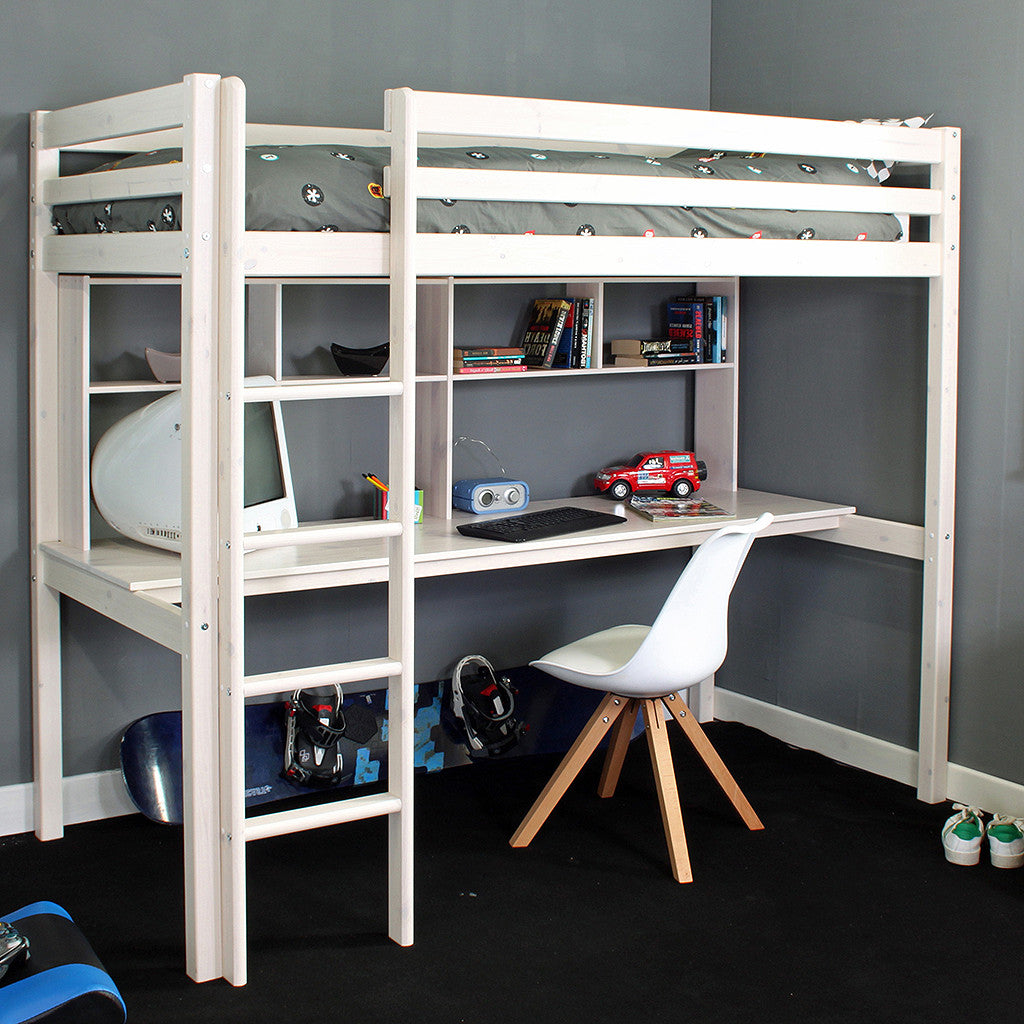 Thuka Hit 10 High Sleeper Bed with Desk & Shelves