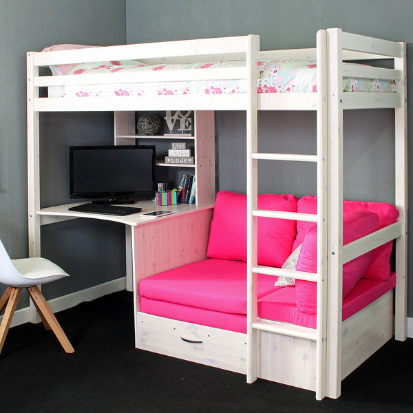 Thuka HIT 7 High Sleeper Bed with Desk & Chairbed
