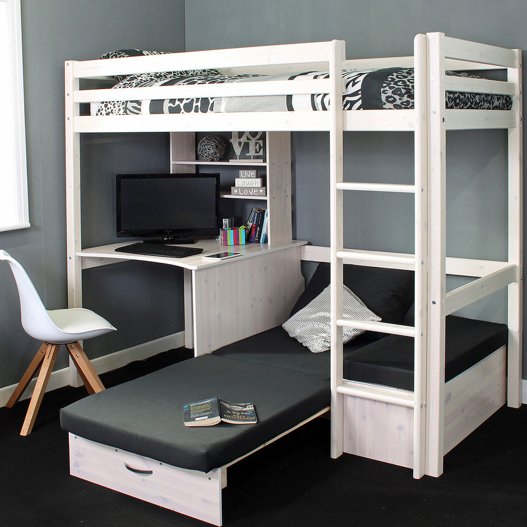 Thuka Hit 8 High Sleeper Bed With Desk Amp Chairbed Family