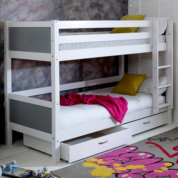 Flexa Nordic Bunk Bed & Drawers
