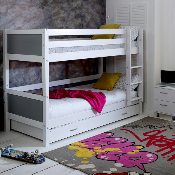 Flexa Nordic Bunk Bed & Trundle Drawer/Bed