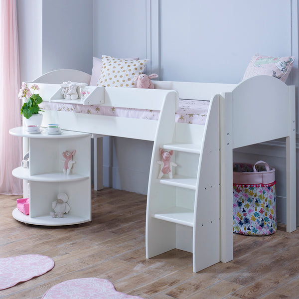 Eli B Cabin Bed & Pull Out Desk