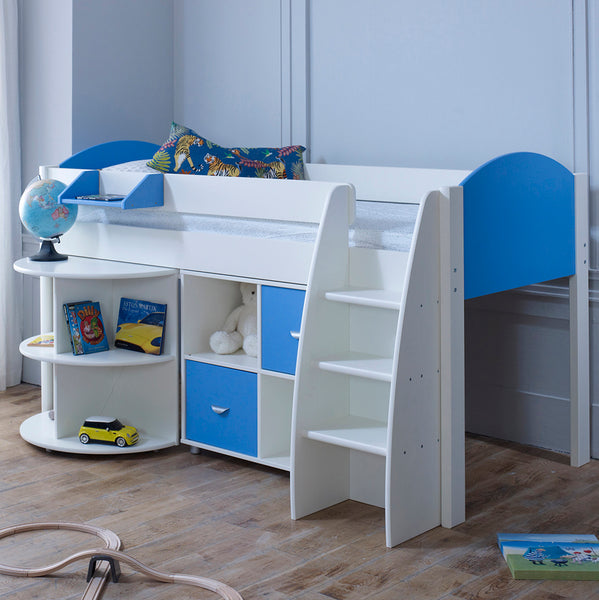 Stompa Rondo C Cabin Bed with Pull Out Desk & Storage