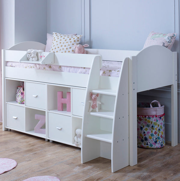 Eli F Cabin Bed with 2 x Storage Cube Units