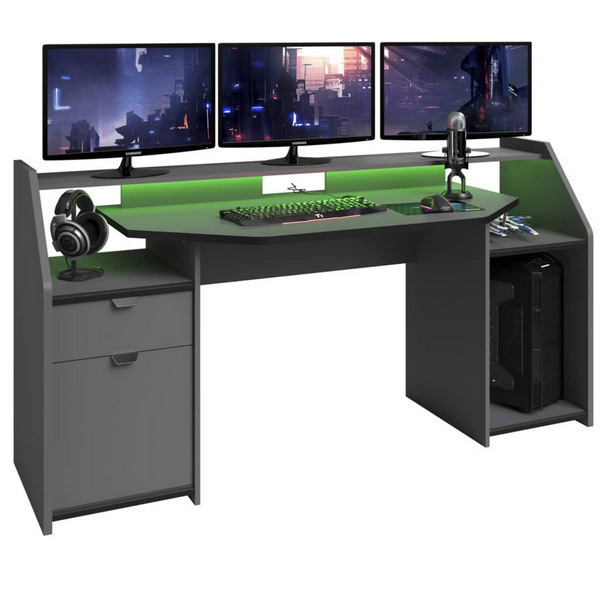 Mega Console Gaming Desk