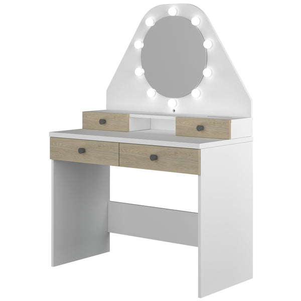 Trasman Star Mirror Vanity Dressing Table